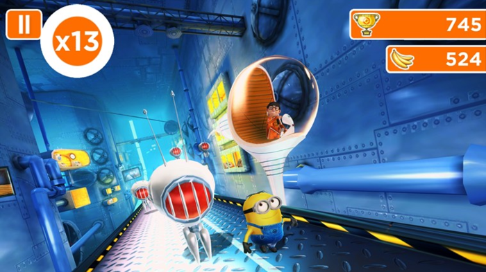 les minions jeux android ios